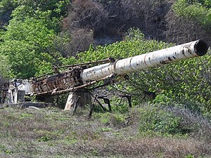 Project HARP - Abandoned HARP gun in Barbados