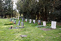 Abbess Roding - St Edmund's Church - Essex England - churchyard at west.jpg