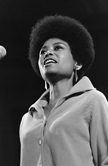 Abbey Lincoln in concert, 1966