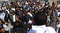 Abdul Amir leads chants - Flickr - Al Jazeera English.jpg