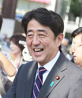 Shinzo Abe in 2012
