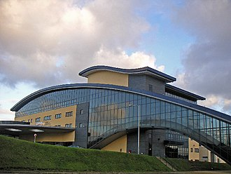 Aberdeen Exhibition and Conference Centre - Entrance to main building (c.2005)