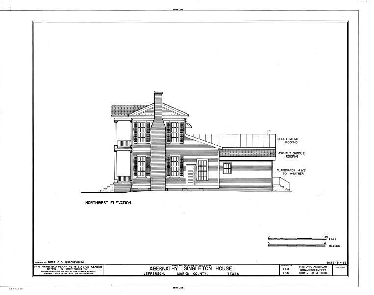 File Abernathy Singleton House 204 North Soda Street