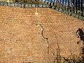 Abutment, railway bridge, near Haydon Wick, Swindon - geograph.org.uk - 1705321.jpg