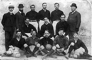 History of A.C. Milan - The AC Milan team of 1907.
