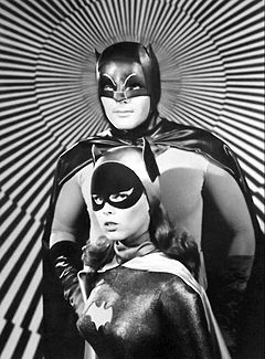 Adam West Yvonne Craig Batman Batgirl 1967.JPG
