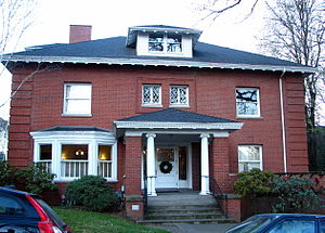 National Register of Historic Places listings in Northwest Portland, Oregon - Image: Adams House Portland Oregon
