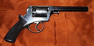 Robert Adams (handgun designer) - An Improved Frame Model of 1854