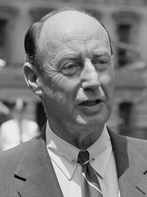 1956 Democratic National Convention - Image: Adlai E Stevenson 3x 4 (B)