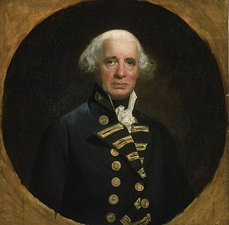 Richard Howe, 1st Earl Howe - Richard Howe, painted by John Singleton Copley, 1794