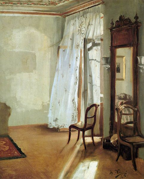 File:Adolph von Menzel - Interior of a Room with Balcon - WGA15044.jpg