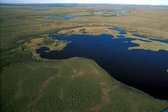 Emergency Wetlands Resources Act - Aerial View of National Park Wetlands