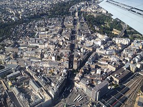 Aerial View Luxembourg City - Gare (2014) 1.JPG