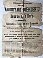 Affiche verkoop boerderij Adr. van de Mortel Derp Deurne 25 april 1910 1.jpg