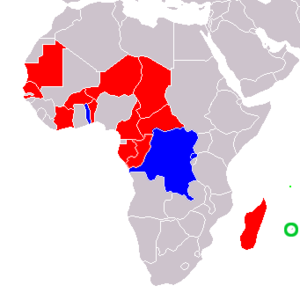 African and Malagasy Union - Image: African Malagasy Union Members
