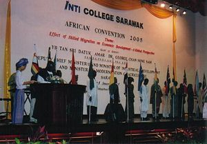 English: The African Students Convention 2005 ...