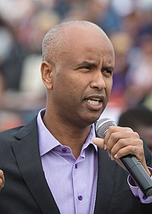 Ahmed Hussen at the Toronto Caribbean Carnival - 2017 (36258275322) (cropped).jpg