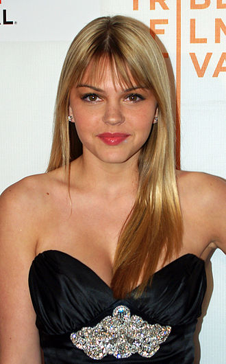 Aimee Teegarden - Teegarden at the premiere of Redbelt at the 2008 Tribeca Film Festival.
