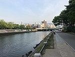 Aioibashi Bridge on Motoyasugawa River.jpg