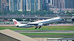 Air China Airbus A330-343 B-6523 Taking off from Taipei Songshan Airport 20160906a.jpg