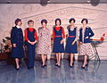 Air Hostess Uniform 1975 Red and Blue 002 (9623430911).jpg