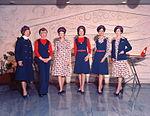 Air Hostess Uniform 1975 Red and Blue 002 (9623430911).jpg
