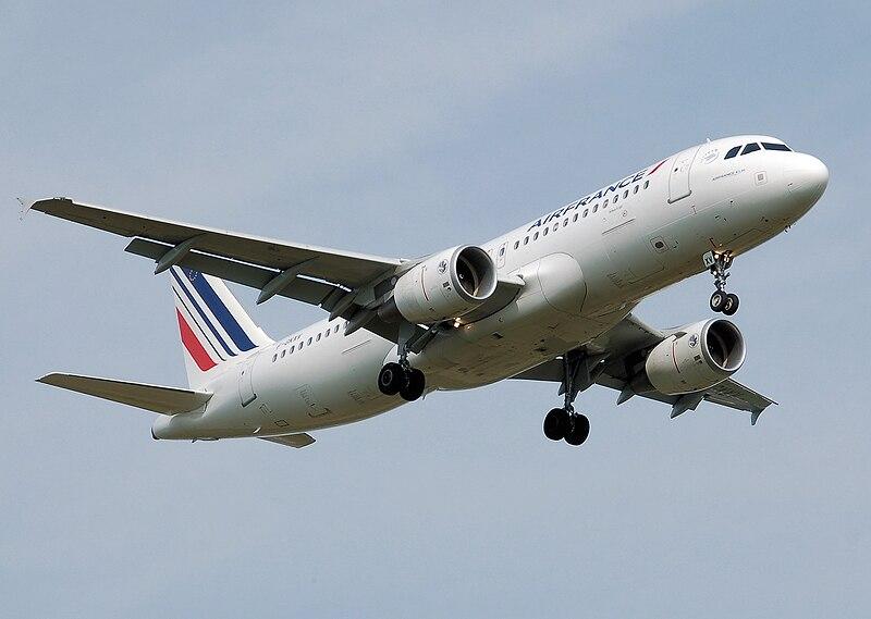 Air France fue el primer cliente del Airbus A320.