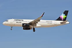 Airbus A320-232(w) 'N520VL' Volaris (27824039144).jpg