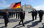 Airmen from the 49th Fighter Wing and the German Air Force Flying Training Center, salute Franz Josef Jung, German Minister of Defense.jpg