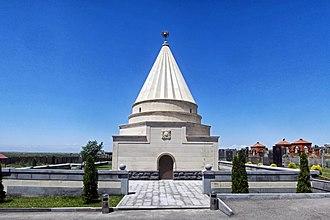 Yazidis - The Ziarat temple in Aknalich, Armenia