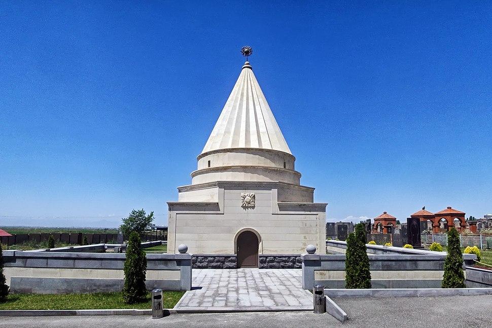 Aknalitch, Yezids temple Ziarat - panoramio