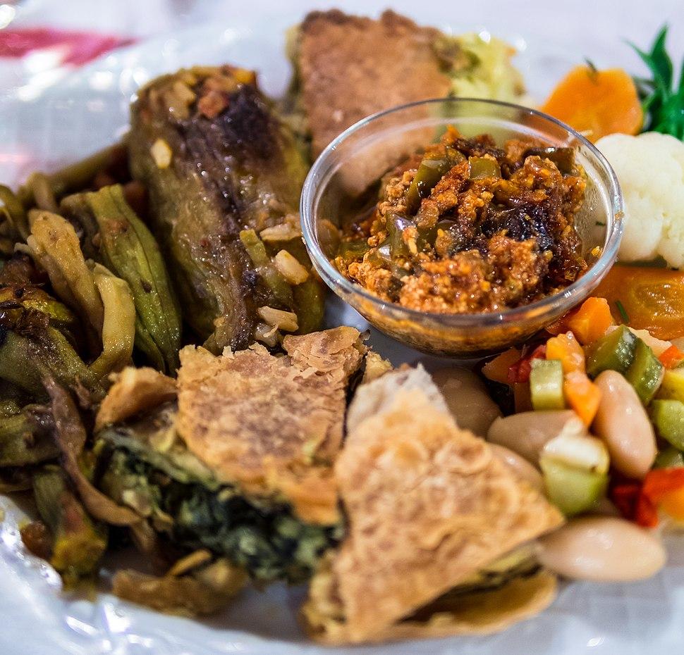 Albanian cuisine - Pite dhe Speca