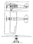 Albatros L 57 3-view .L'Aéronautique July 1921.png