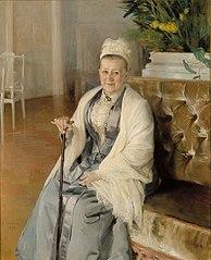 Portrait of Mrs. Anna Sinebrychoff