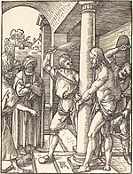 Albrecht Dürer, The Flagellation, probably c. 1509-1510, NGA 6767.jpg