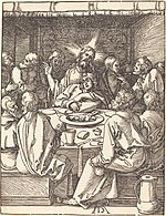 Albrecht Dürer, The Last Supper, probably c. 1509-1510, NGA 6758.jpg