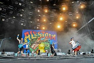 Alestorm Scottish pirate-themed heavy metal band
