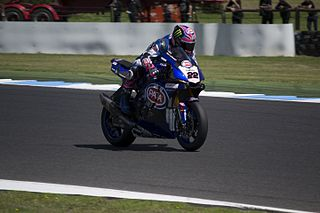 Alex Lowes British motorcycle rider