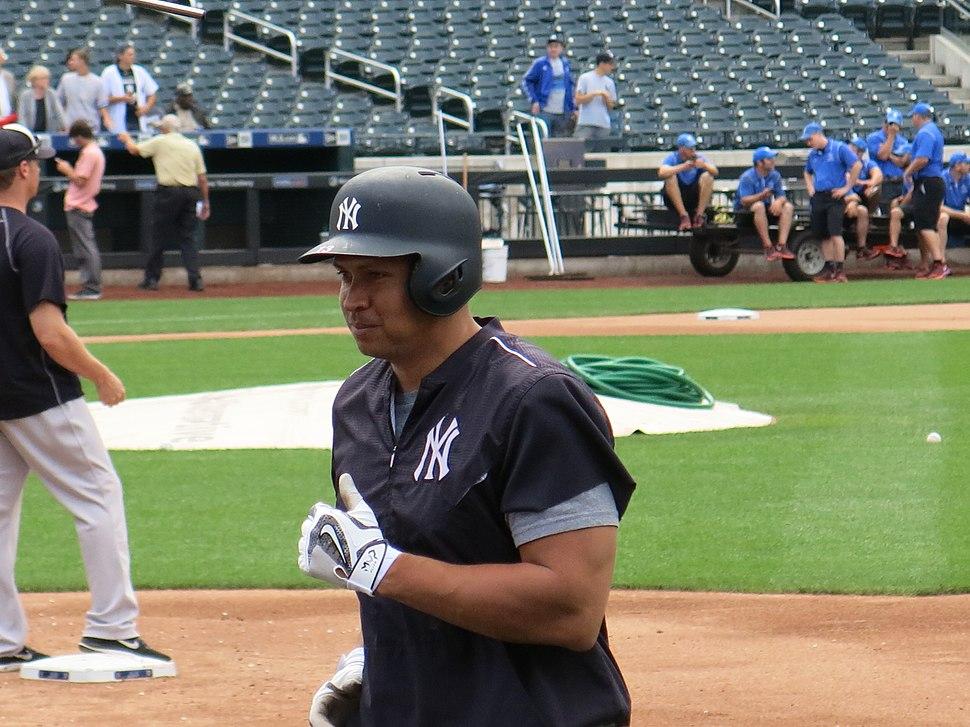Alex Rodriguez on August 2, 2016