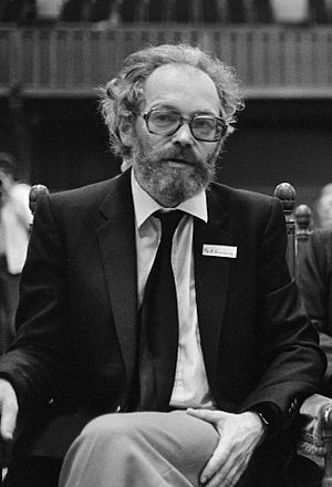 Alexander Ginzburg - Ginzburg at the Sakharov tribunal in The Hague on 4 September 1980