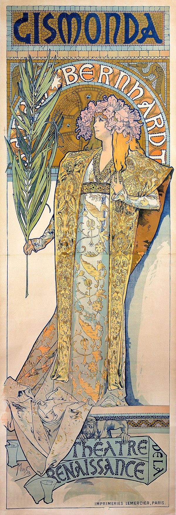 Alfons Mucha - 1894 - Gismonda