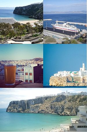 Skyline of Al Hoceima