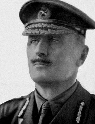 British cavalry during the First World War - Edmund Allenby, commander of the BEF's cavalry at the start of the war, went on to command the Egyptian Expeditionary Force.