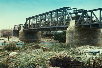 Allenby Bridge - Image: Allenby Bridge LOC Matson 22904