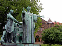 Statue of Alma Mater, Urbana-Champaign campus of the University of Illinois