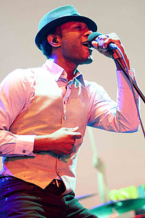 Aloe Blacc American soul singer, rapper and musician