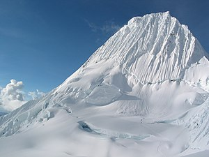 Janca - The snow peaks in the Andes are part of the janca.