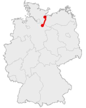 Old Salt Route - Map: Old Salt Route