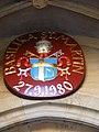 Amberg - Basilika St. Martin, kirchliches Wappen.jpg