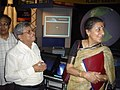 Ambika Soni Visiting Space Odyssey - Science City - Kolkata 2006-07-04 04813.JPG